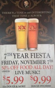 7th Anniversary Fiesta Flier (11.7.14)