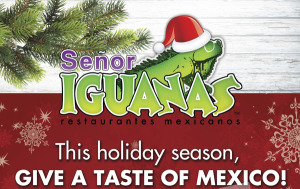 Senor Iguanas gift card